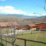 Vista Agriturismo Fattoria Antica Forconia e L'Aquila
