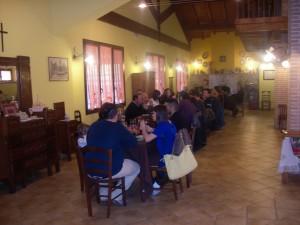 Sala della Fattoria Antica Forconia Agriturismo a L'Aquila