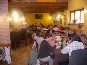 Pranzo a L'Aquila in Fattoria Antica Forconia Agriturismo