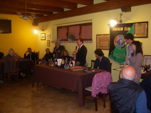 Riunione Panathlon L'Aquila in Agriturismo Fattoria Antica Forconia