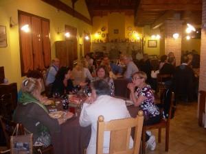 Cena Burraco in Agriturismo Fattoria Antica Forconia