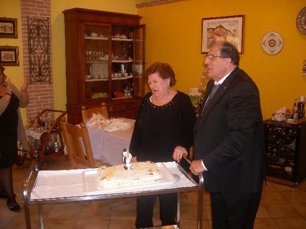 immagine del pranzo - la celebrazione delle nozze d'oro, un anniversario importantissimo per la coppia!