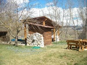 Portico dell'Agriturismo Fattoria Antica Forconia in Abruzzo
