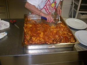 Lasagna preparata in Agriturismo Fattoria Antica Forconia
