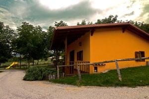 Esterno Bungalow della Fattoria Antica Forconia Agriturismo in Abruzzo