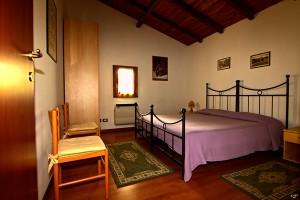 Camera Matrimoniale del Bungalow dell'Agriturismo Fattoria Antica Forconia