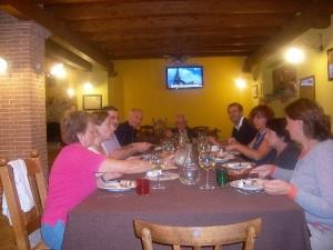 Ospiti in Fattoria a Mangiare i Piatti della tradizione Abruzzese
