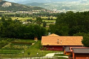 Vista panoramica della Fattoria Antica Forconia Agriturismo a L'Aquila