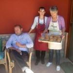 Staff della fattoria Antica Forconia Agriturismo a L'Aquila