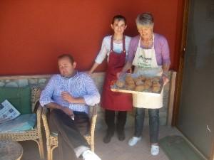 Il Team dello Staff dell'Agriturismo Fattoria Antica Forconia a L'Aquila