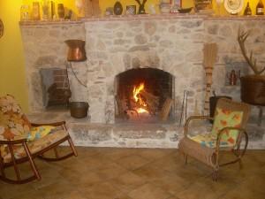 Camino acceso in Agriturismo Fattoria Antica Forconia a L'Aquila