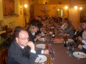 Ospiti di Liris in Fattoria Antica Forconia a L'Aquila
