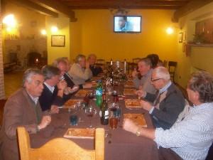 Polentata in Fattoria Antica Forconia in Abruzzo L'Aquila