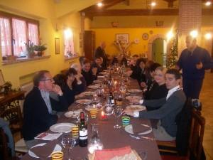Confcommercio a pranzo in Fattoria Antica Forconia Agriturismo L'Aquila