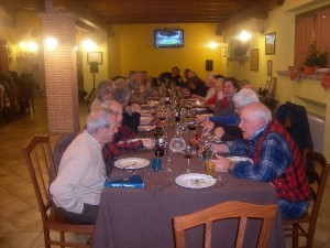 Cena tipica abruzzese in Agriturismo per la Festa di Sant'Agnese