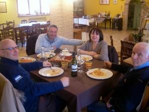 Una Famiglia ospite in Fattoria Antica Forconia vicino L'Aquila