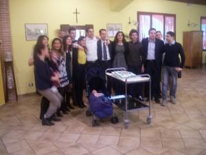 Festeggiamenti in Fattoria Antica Forconia di Amici e Famiglia