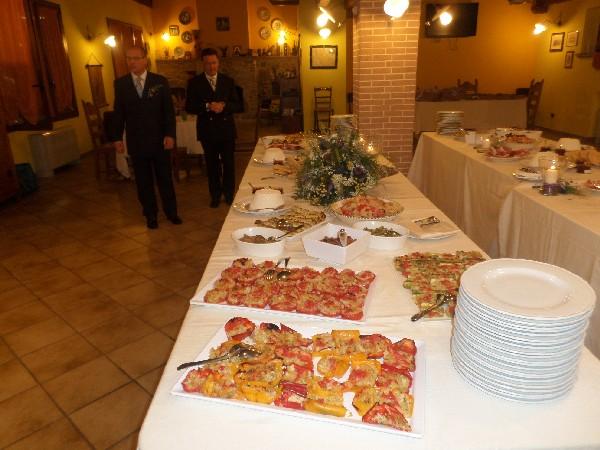 buffet di Matrimonio all'agriturismo Fattoria Antica Forconia L'Aquila