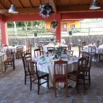 Tavoli per un Matrimoni in Fattoria Antica Forconia Agriturismo a L'Aquila