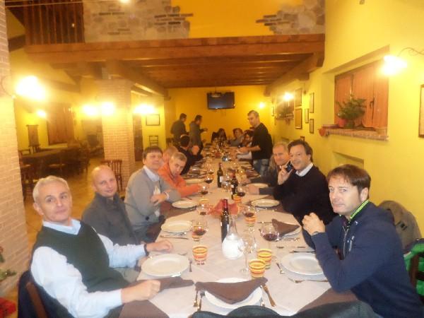 a cena dalla Fattoria a L'Aquila