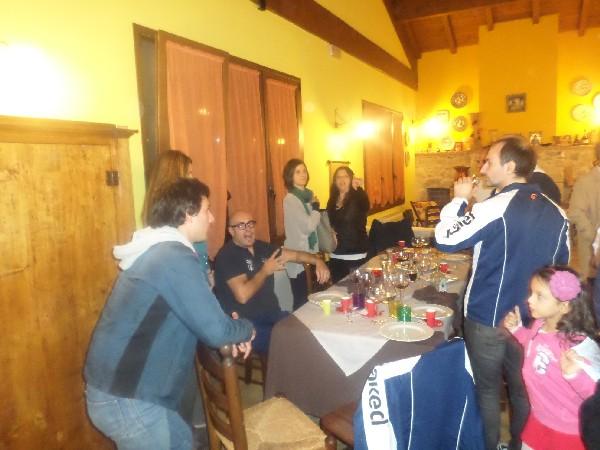 flaminio roma a cena alla Fattoria Antica Forconia a L'Aquila