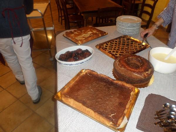 I dolci della Fattoria Antica Forconia