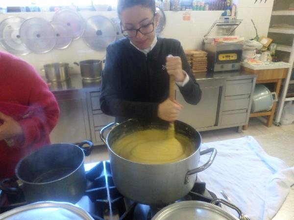 diana e la polenta in Agriturismo a L'Aquila