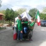 Ospiti del nostro Agriturismo durante l'Adunata Alpini
