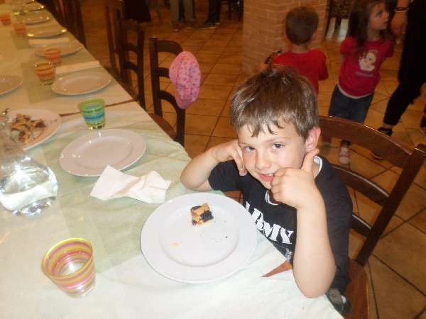 lino con una scuola celano in fattoria didattica in Abruzzo