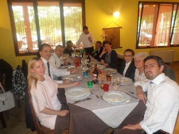 una comunione in Agriturismo Fattoria Antica Forconia in Abruzzo