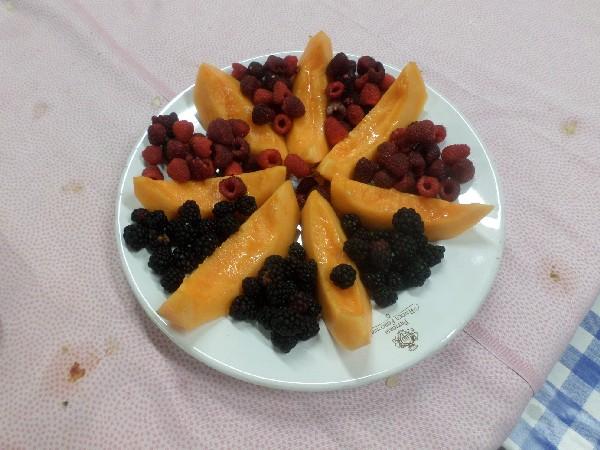 melone e frutta in Agriturismo a L'Aquila