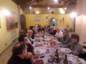 Rimpatriata di classe alla Fattoria Antica Forconia Agriturismo a L'Aquila