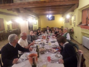 Ospiti dell'Agriturismo Fattoria Antica Forconia vicino L'Aquila