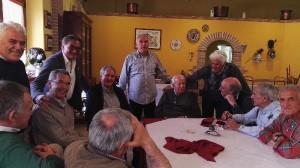 Rimpatriata di ex dipendenti Carispaq in Agriturismo Fattoria Antica Forconia