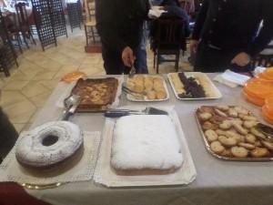 I dolci della Fattoria Antica Forconia Agriturismo vicino L'Aquila