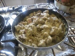 Preparazione di piatti tipici della cucina abruzzese in Agriturismo