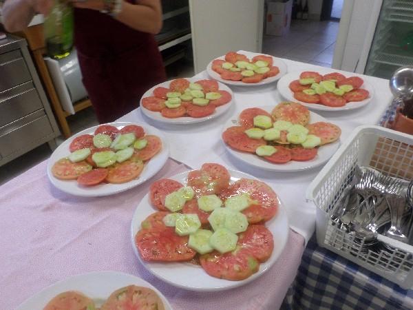 pomodori cetrioli