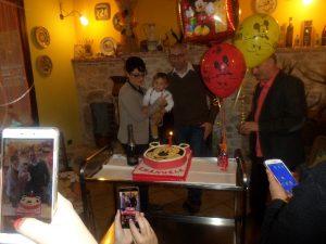 Celebrazioni del Battesimo del Piccolo Emanuele in Agriturismo