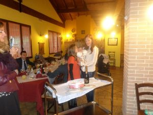 Battesimo in agriturismo a pochi km da L'Aquila